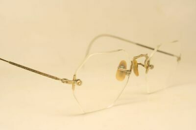 rimless vintage glasses