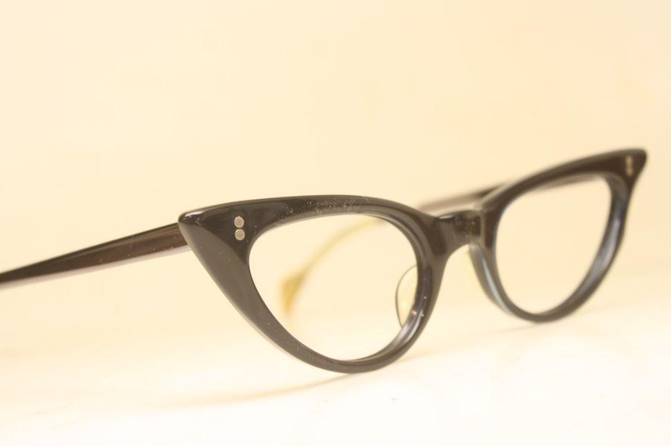 blue cat eye frames